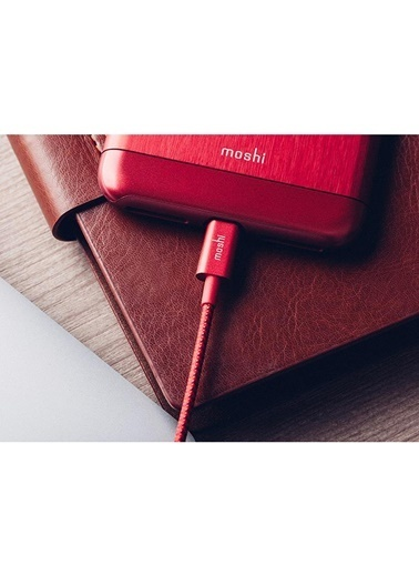 Integra Lightning US A Kırmızı Renk Kablo-Moshi